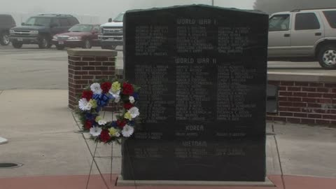 Wreath Laying Ceremony held at Ozaukee County War Memorial